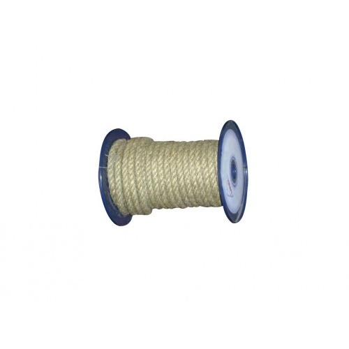 lano přírodní 12mm stáčené s PP    (100m)