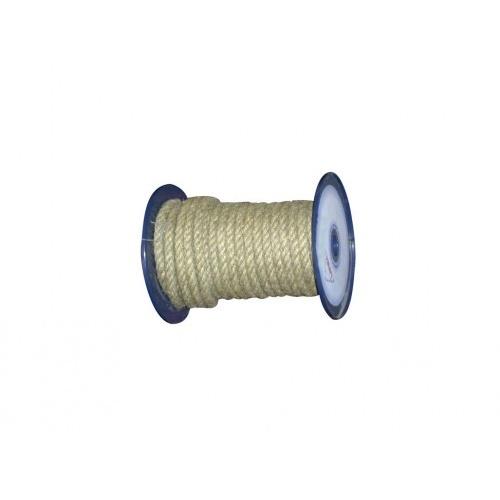 lano přírodní 14mm stáčené s PP    (100m)