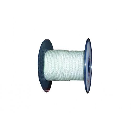 šňůra PA bez duše 3mm BÍ pletená (200m)