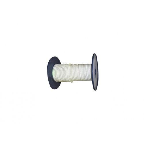 šňůra PA s duší 7mm BÍ pletená  (100m)