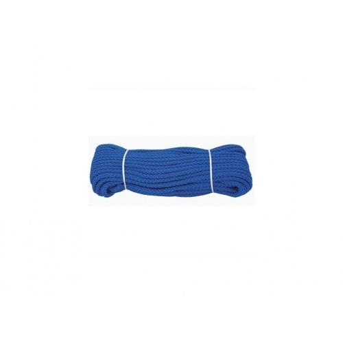 šňůra PPV bez duše 6mm barevná pletená (20m)