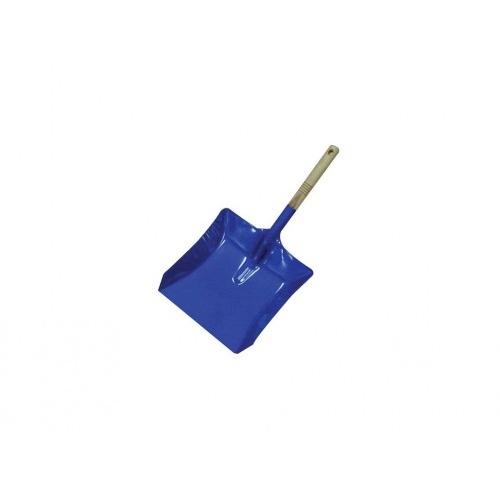 lopatka na smetí silná lak.dřev.rukojeť