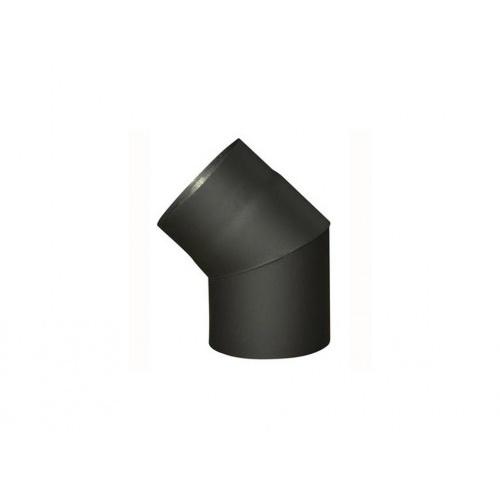koleno kouřové 160mm/45st.t.1,5mm ČER