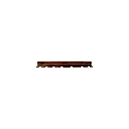 polička 6ks, 39cm, dřev.