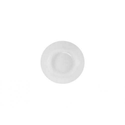 talíř hluboký 23cm BÍ porcelánový