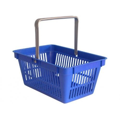 košík nákupní, 1 držadlo 44,5x30x21,5cm PH mix barev,nosn.15kg