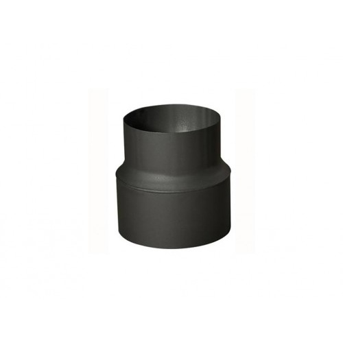 redukce trubková 130/120mm (d.160mm) t.1,5mm ČER