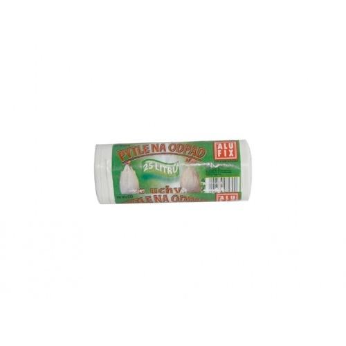 pytle na odpadky zavaz.s uchy 25l (30ks) 50+16x45cm BÍ 10µ