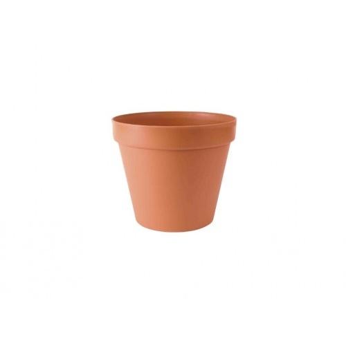květináč GLINKA 30 v.25,5cm TE (R624) imitace hliněného květináče