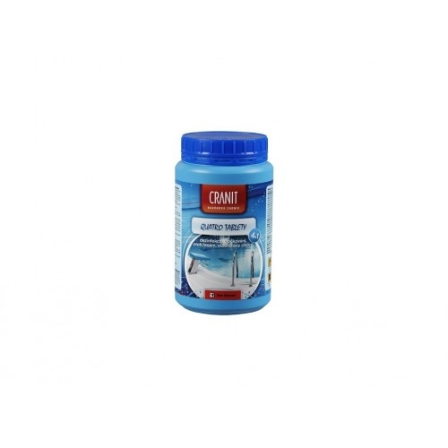 CRANIT QUATRO tablety 1kg,dez.,proti řasám,vločkování,stabilizátor