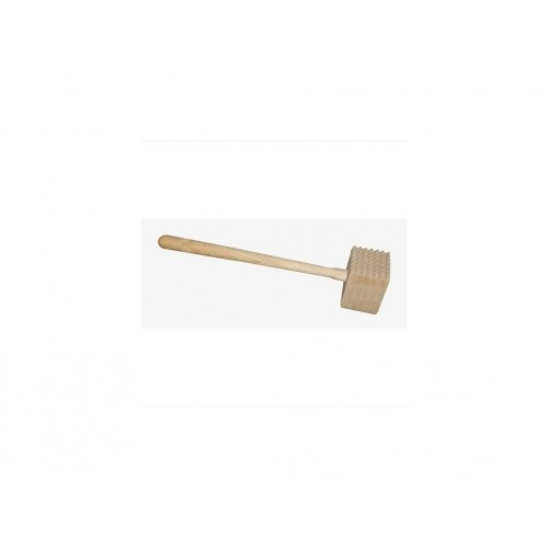 palička na maso oboustr.33cm dřev.