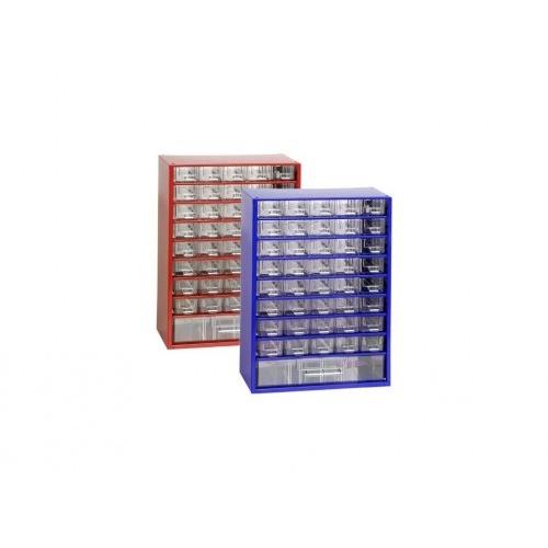 skříňka 2 velikosti 40m,1v 6703  30,5x44cm kov.