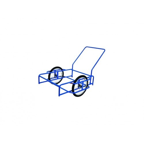 vozík GOLEM, komaxit, 1030x1110x260mm, nosnost 150kg