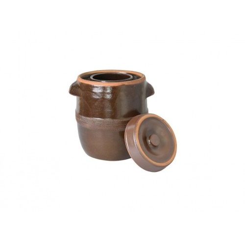 sud na zelí 30l + víko, keramika