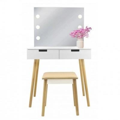 ALDOTRADE Toaletní kosmetický stolek Retro 80x50x135cm