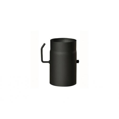 roura kouřová s klap.120mm/ 250 t.1,5mm ČER
