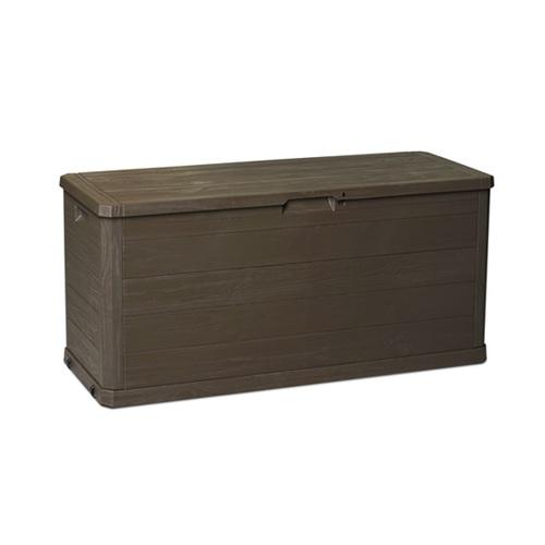ALDOTRADE Zahradní úložný box dřevo 280l hnědý