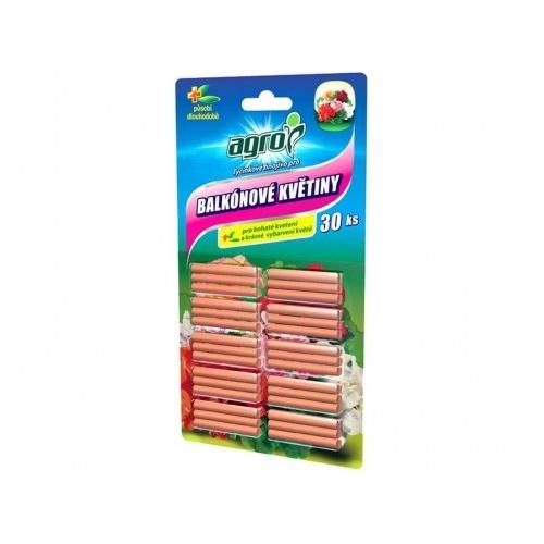 hnojivo AGRO tyčinkové balk.květiny (30ks)
