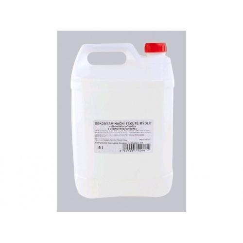 mýdlo tekuté dekontaminační s antibakteriální přísadou 5l