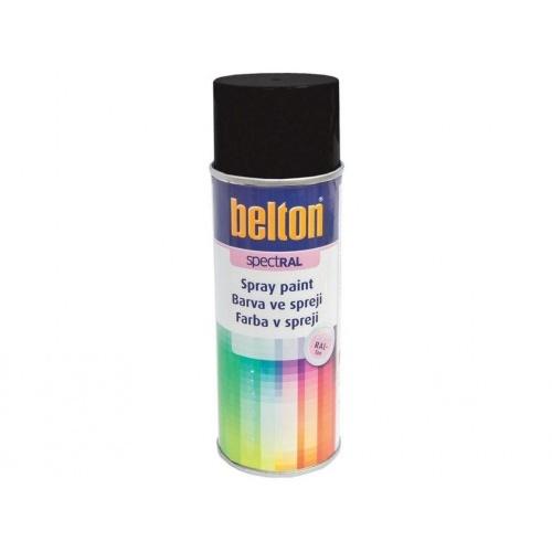barva ve spreji BELTON RAL 9005m, 400ml ČER matná
