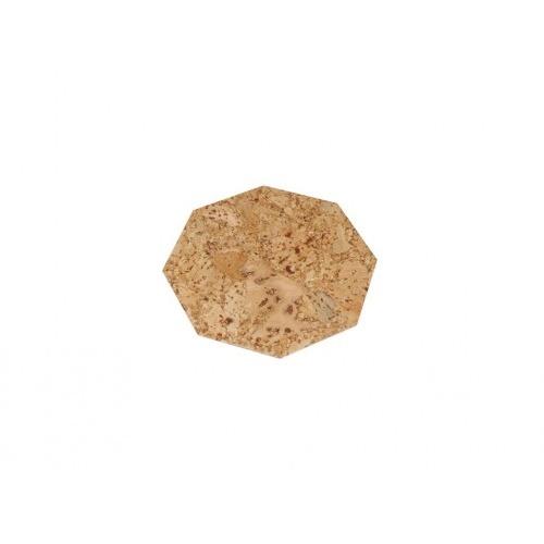 prostírání osmihran 10cm korek     (6ks)