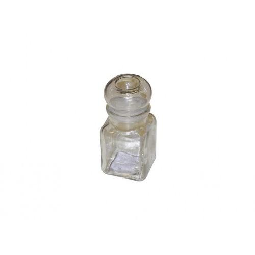 kořenka 150ml hran.s uzávěrem skl. 150/2