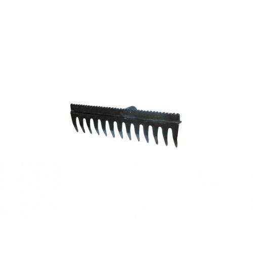 hřeben se srovnávací lištou 38,5x11cm, 13z PA/skelné vlákno