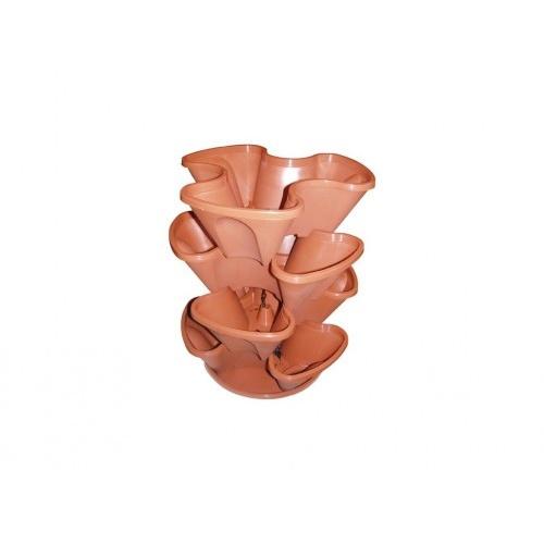 kaskáda závěsná 4 dílná pr.35cm mix barev