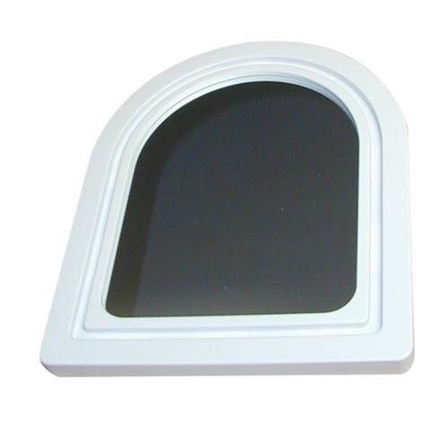 zrcadlo PORTÁL půlkulaté 37,5x28,5cm (malé) mix barev