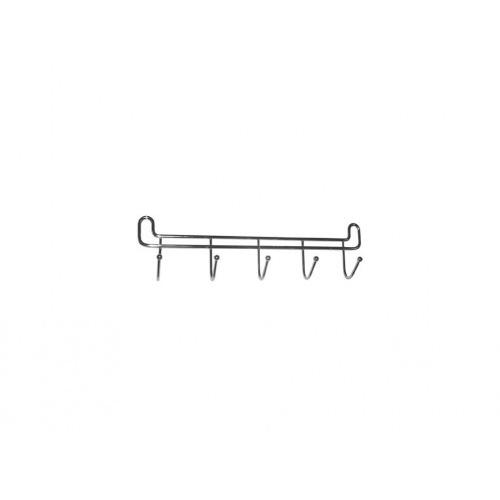 věšák 5 háčků š.27cm Cr               2726