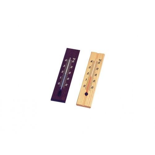 teploměr pokojový D20 20cm dřev.světlý