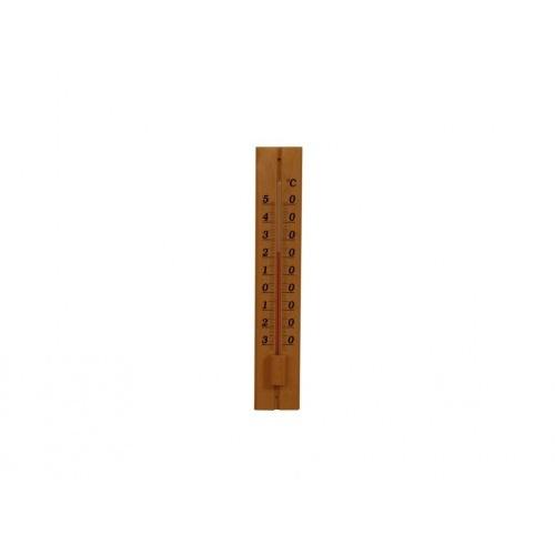 teploměr venkovní D34 32cm dřev.světlý