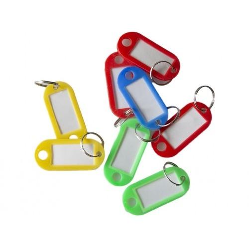 visačka na klíče 5,0cm PH malá s krouž.mix barev (50ks)