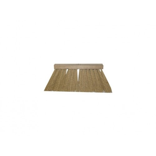 koště chodník.25x6, 25cm dřev., PVC vlákno 12cm, bez závitu