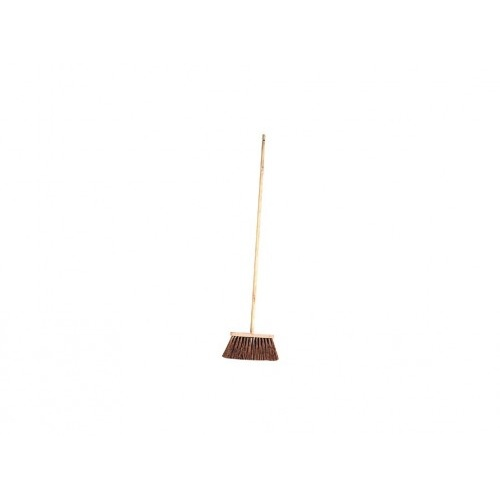 koště chodník.25x6, 25cm dřev., PVC vl.12cm, s holí 120cm