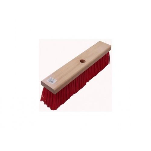 kartáč silniční  40x8cm na hůl dřev., PET vlákno 9cm