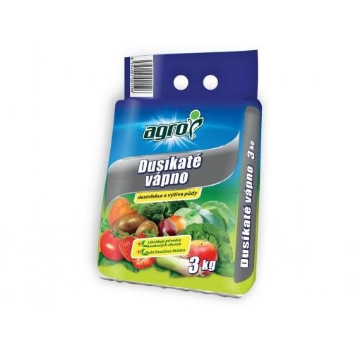 hnojivo Dusíkaté vápno 3kg AGRO