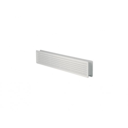 mřížka větrací dveřní PH 500x 90mm BÍ  (2ks)