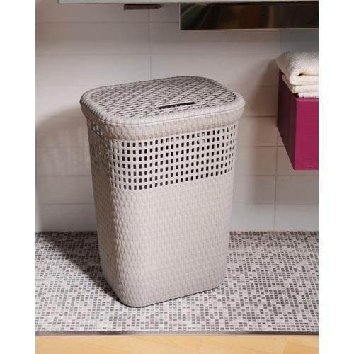 ALDOTRADE Prádelní koš na špinavé prádlo Rattan 60l
