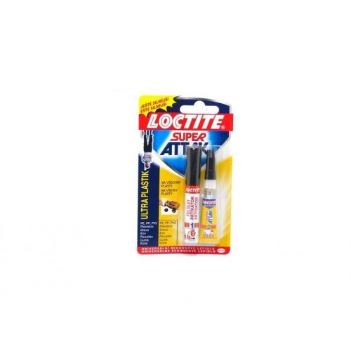lepidlo vteřinové 2g + 4ml aktivátor ULTRA PLASTIC