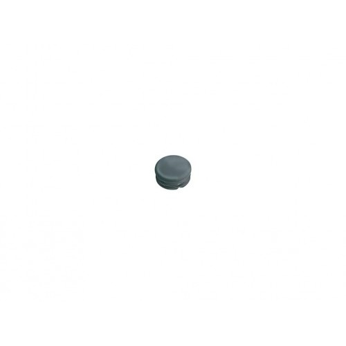 zátka kulatá 10mm LDPE ČER  (20ks)