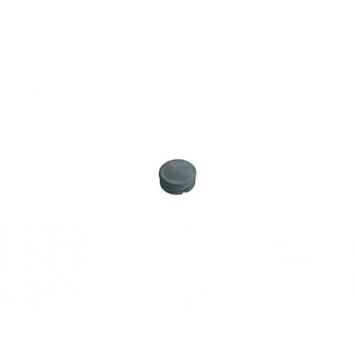 zátka kulatá 16mm LDPE ČER  (20ks)