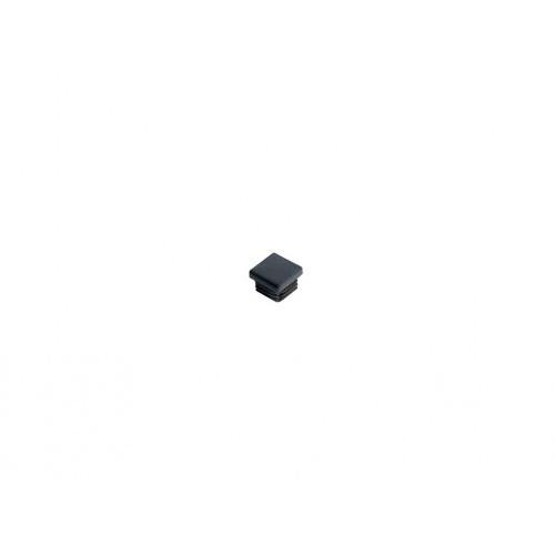 zátka čtvercová  15mm LDPE ČER  (20ks)