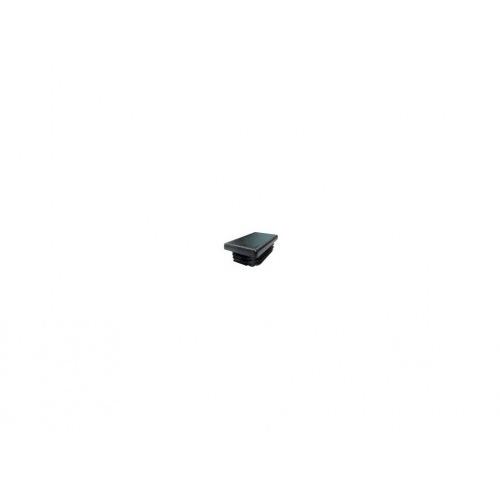 zátka obdélníková 50x20mm LDPE ČER  (10ks)