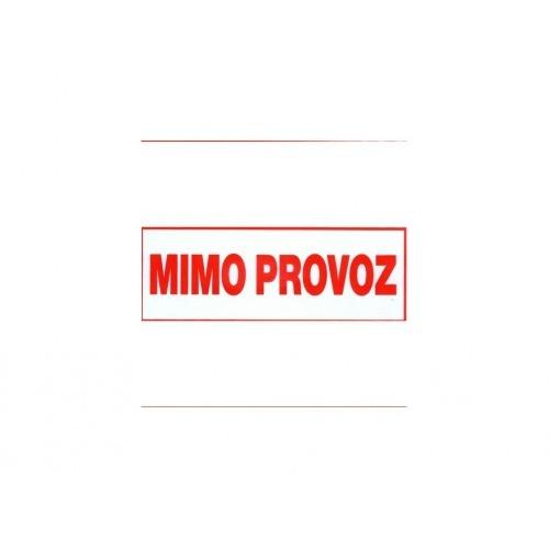 tabulka - MIMO PROVOZ