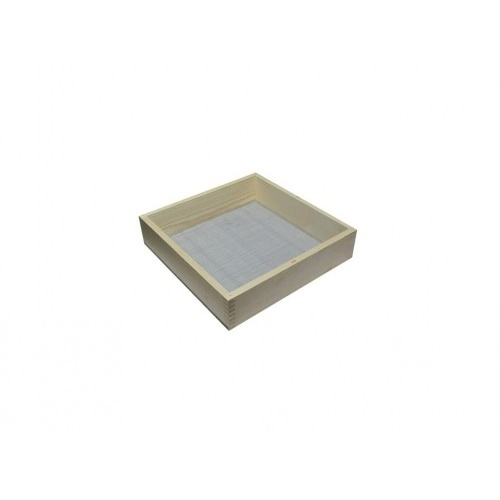 síto zednické oko 3mm, 52x45cm, dřev. rám