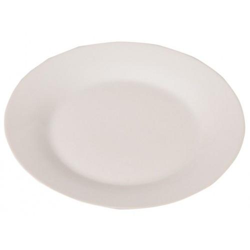talíř mělký skleněný CADIX 25cm BÍ