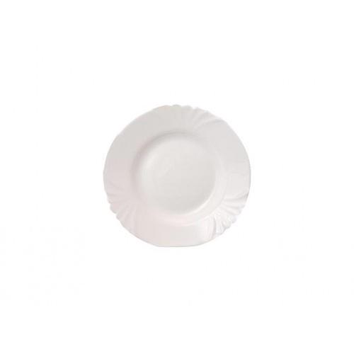 talíř dezertní skleněný CADIX 19,5cm  BÍ