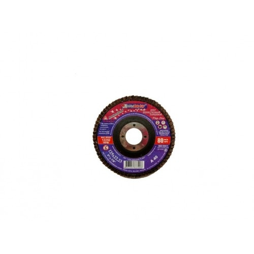 kotouč lamelový 125x22,23mm zr.40 korundový