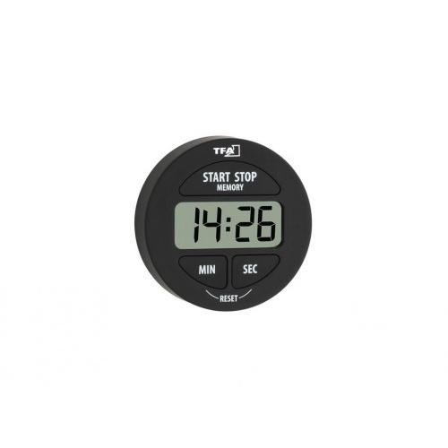 minutka digitální se stopkami pr.5,5cm ČER